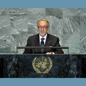 "Badia UN - On 26 September, José Badia, Minister of Foreign Affairs, gave a speech in front of the UN General Assembly, on the occasion of the General Debate of the 66th session of the Assembly.With the international community watching, he announced that Monaco would contribute to the preparations for RIO+20, by presenting ""Monaco's Message"" at the end of a high level meeting of experts concerning the sustainable management of oceans. This meeting will take place in the Principality from 28 to 30 November."