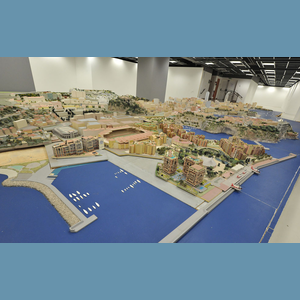 Model BD - On 17 November, work to preserve the 1/200 model of Monaco will begin.Directed under the auspices of the NMNM, these works should breathe new life into the model, which is 17 metres long and 6 metres wide and is made of different pieces, the oldest of which dates from the 70s.