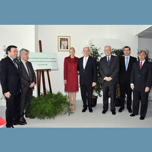 Inauguration du foyer de l 39 enfance princesse charl ne for Foyer meaning in english