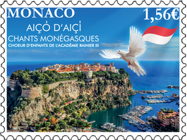 The first Monegasque stamp in augmented reality!