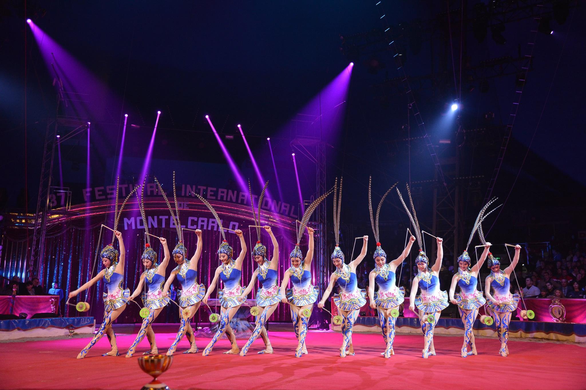 Международный цирковой фестиваль в монте карло