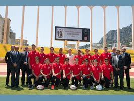 « South Africa – Monaco Rugby Exchange » Stade Louis II Monaco