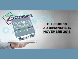 25ème CONGRES PHARMACIE REFERENCE GROUPE