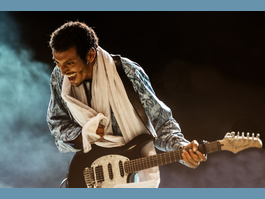 Bombino, « le Jimi Hendrix du désert »  en Thursday Live Session au Grimaldi Forum le 27 octobre
