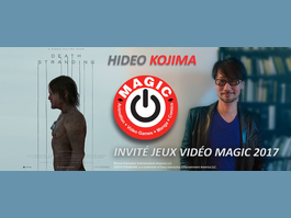 Hideo Kojima invité du MAGIC 2017 : Metal gear is in the air !