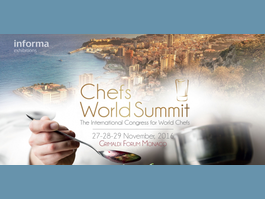 Le Chefs World Summit à Monaco