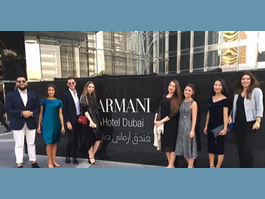 MSc in Luxury Management study trip in Milan and in Dubai