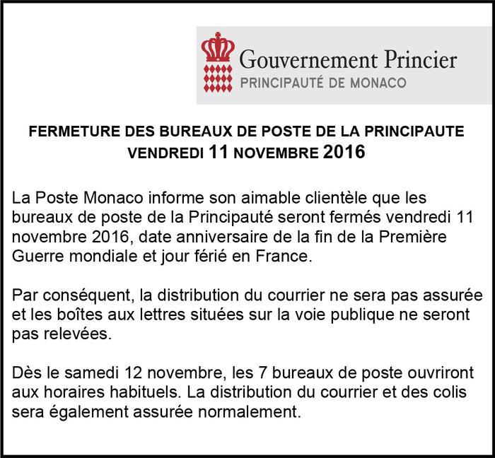 11 novembre fermeture des bureaux de la poste news for Bureau de poste mauleon 64