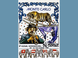 La carte du Jour : Festival International du Cirque - 1981