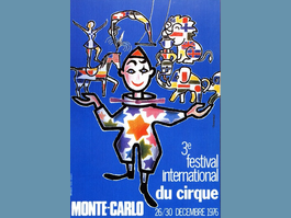 La carte du Jour : Festival International du Cirque - 1976