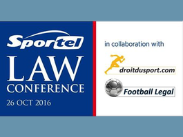 "SPORTEL announces the 1st edition of the ""SPORTEL Law Conference""."