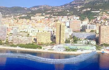 caisson enews 2 - The belt of caissons will stake out the Principality's future coastline. © Bouygues TP