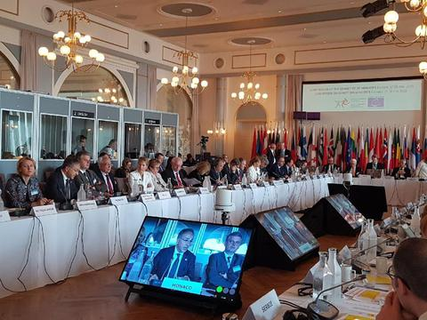 Monaco participates in 128th Council of Europe Ministerial Session