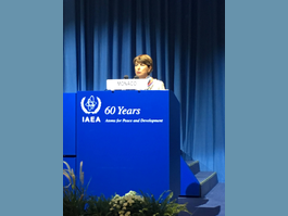 Monaco Attends the 61st General Conference of the IAEA