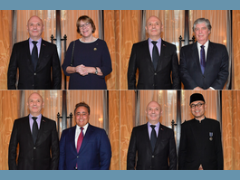 Diplomacy: accreditation of new ambassadors from  Norway – Chile – Qatar – Indonesia