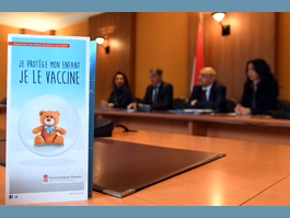 Ministry of Health and Social Affairs launches campaign to promote childhood vaccination in Principality