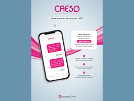 CAESO : un coach d'aide à l'orientation 100% digital