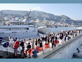 Celebrations of the French national holiday in the Principality of Monaco