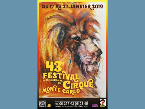 43rd International Circus Festival of Monte-Carlo From the 17th to the 27th January 2019  Press Release n° 1