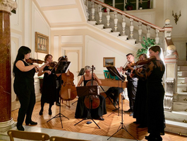 Baroque concert at Monaco's Embassy in Italy