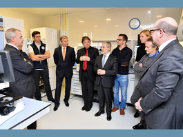 Two ministers pay visit to Monaco Scientific Centre