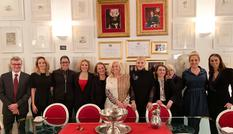 DTC opération fin 2018 - The teams from the Tourist and Convention Authority, Cecilia Bartoli and the Musiciens du Prince, and the Ballets de Monte-Carlo © DTC