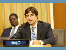 UN - Monaco Attends the Intergovernmental Conference on Conservation and the Use of Marine Biodiversity