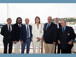 Private Lunch at the Yacht Club of Monaco in Honour of Donors to the Friends of the CHPG Foundation