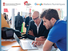 Google Digital Workshops     17, 18 and 19 September – Monaco's Vocational and Catering School