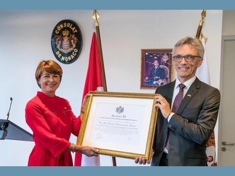 New Monaco Consulate opens in Düsseldorf
