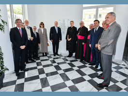 Inauguration of the Agora – Monaco's Diocesan House