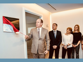 Official opening of new Office of Occupational Medicine premises  to monitor health of State and Commune civil servants