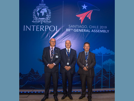 The Principality of Monaco is Present  at INTERPOL's 88th General Assembly in Santiago, Chile