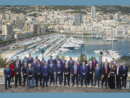 Minister of State hosts A.S. Monaco Basket