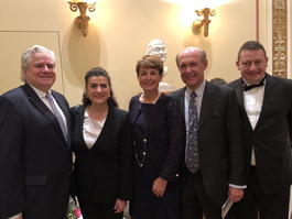Embassy of Monaco in Austria  Reception on the Occasion of a Concert by Cecilia Bartoli  and Les Musiciens du Prince