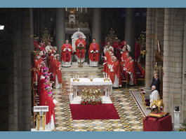 Mgr Bernard Barsi bids farewell to the Diocese of Monaco