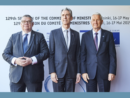 Council of Europe - Monaco takes part in 129th Session of Committee of Ministers in Helsinki