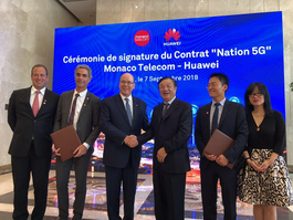 Government welcomes agreement between Monaco Telecom and Huawei  on 5G coverage in Monaco