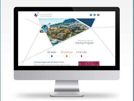 MonacoTech – A Web Site Presenting the Start-Up Programme