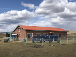 Cooperation: installation of photovoltaic system at Arkhangai Archaeological Research and Exhibition Centre (Mongolia)
