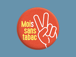 """Moi(s) sans tabac"" stop smoking campaign"