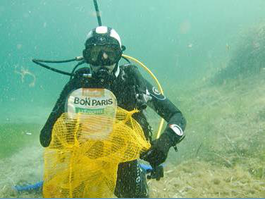Major underwater clean-up operation in Saint-Jean-Cap-Ferrat - Saturday 22 July, 9 am to 12 pm