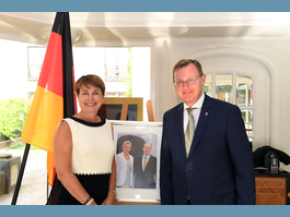 Annual reception at the Embassy of Monaco in Berlin