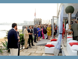 Reception at Monaco's Embassy in Portugal  to mark the anniversary of H.S.H. the Sovereign Prince's accession