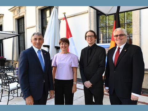 Monaco's Embassy in Berlin holds annual reception