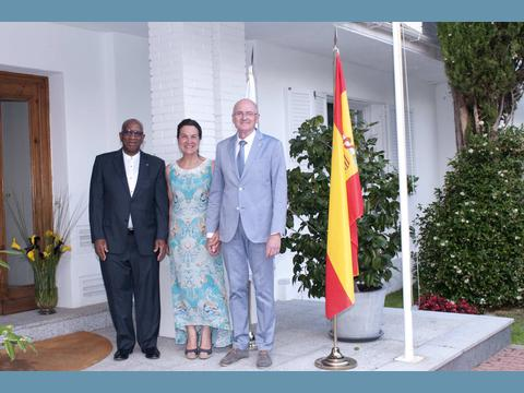 Annual reception at the Embassy of Monaco in Spain