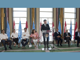Reception at UN to celebrate anniversary  of H.S.H. the Sovereign Prince's accession