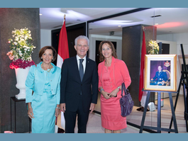 Reception in Paris to celebrate   anniversary of H.S.H. the Sovereign Prince's accession