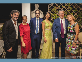 Annual reception at the Embassy of Monaco in Italy