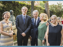 Reception at Monaco's Embassy in Italy   to mark the anniversary of H.S.H. the Sovereign Prince's accession